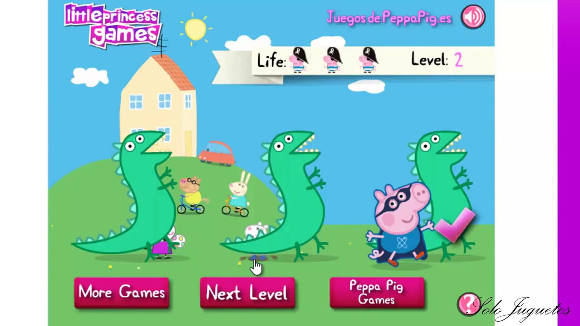 Peppa Pig English Where Is George Games For Children Video