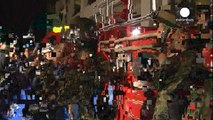 Hundreds of casualties after magnitude 6 quake hits Japan
