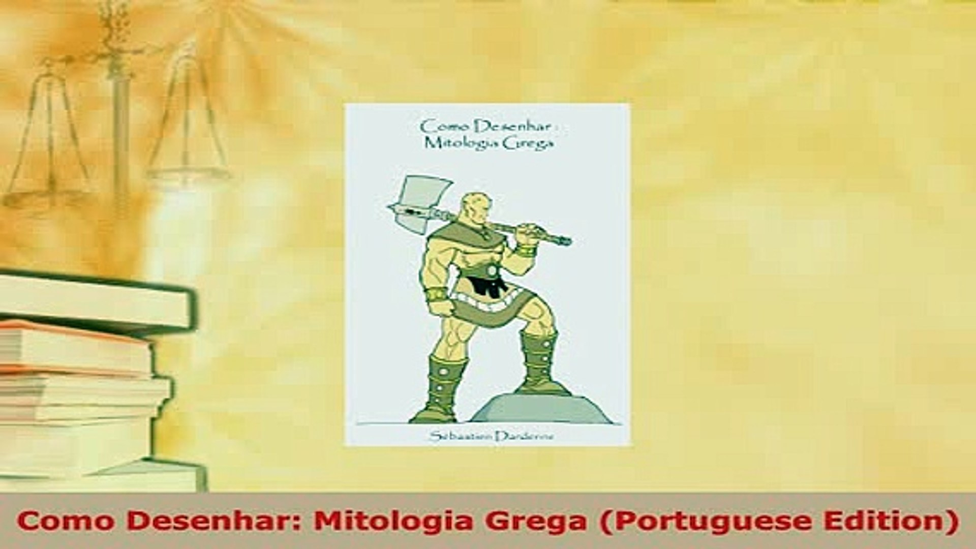 Download Como Desenhar Mitologia Grega Portuguese Edition Pdf Book