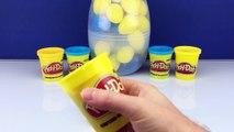 Minions 2015 Giant Surprise Play Doh Egg How To Make Tutorial PlayDoh Gigante Sorpresa Del Huevo
