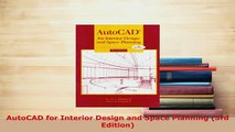 PDF  AutoCAD for Interior Design and Space Planning 3rd Edition  EBook