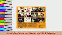 PDF  Miss Fishers Murder Mysteries 2016 Calendar PDF Full Ebook