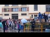 Carnaval 2011, Vilanova i la Geltru - Marenga throwing