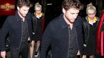 Miley Cyrus and Liam Hemsworth Emerge In Public   Hollywood Asia