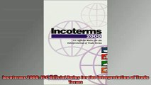 READ book  Incoterms 2000 ICC Official Rules for the Interpretation of Trade Terms  FREE BOOOK ONLINE