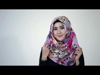 Tutorial Hijab Gaya Klasik