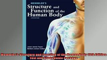 FREE PDF  Memmlers Structure and Function of the Human Body 10th Edition Text and Study Guide  BOOK ONLINE
