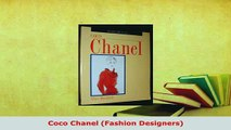 PDF  Coco Chanel Fashion Designers PDF Full Ebook