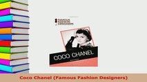 Download  Coco Chanel Famous Fashion Designers Download Full Ebook