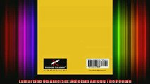 Read  Lamartine On Atheism Atheism Among The People  Full EBook