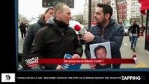 Camille dans la rue : Benjamin Castaldi crie être au chômage devant des passants, la vidéo insolite