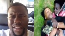 Kevin Hart Clowns Katt Williams For Getting Beat Up By A Kid 2016
