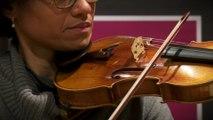 Jean-Sébastien Bach : Sarabande de la deuxième Partita par Ann-Estelle Médouze | Le live de la Matinale
