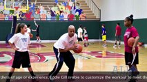 Eddie Gill NBA Veteran Trains at SportZoneIndy in Indianapolis, Indiana