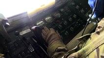 KC 135 Air Refuels F 15 Strike Eagles Over Iraq