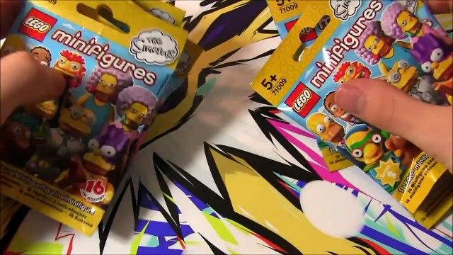 Ouverture de 6 Boosters LEGO SIMPSONS MINIFIGURES ! DAVID LAFARGE VS HOMER SIMPSONS