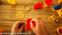 Play Doh Oyun Hamuru ile Nasıl Çirkin RGG Ayas Yapılır  PlayDough Oyun Hamuru Video İzle Türkçe