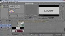 FREE 2D Intro Template #2   Sony Vegas (Intro Editable) + Tutorial