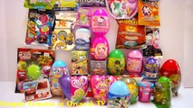 30 Sürpriz Yumurta Açma  Sürpriz Yumurta izle - Yeni Oyuncak ve Yumurtalar 6 Kinder Surprise Eggs