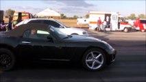 Audi S3 vs Opel GT - Focus RS - Subaru Impreza - Alfa Romeo 155 - Fiat Punto GT Drag Race
