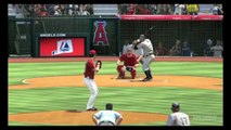 MLB 11 The Show - Yankees@Angels: Alex Rodriguez hits a Monster Homerun