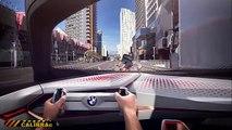 HD BMW Vision Self Driving Car World Premiere 2016 New BMW Vision Concept Commercial BMW Vision CA