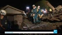 Japon : une série de très violents tremblements de terre fait au moins 9 morts