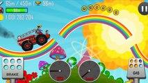 Скорая помощь, Полицейская, Пожарная машины - Hill Climb Racing - Игра как Мультик !