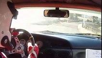 Rallye des Thermes 2012 - ES3 - Cam embarquée - Mégane 16S N°42 - CAMPO Patrice & MAGAND David