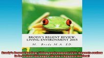 FREE DOWNLOAD  Brodys Regent Review Living environment 2015 Regents review in less than 100 pages  BOOK ONLINE