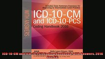 EBOOK ONLINE  ICD10CM and ICD10PCS Coding Handbook with Answers 2016 Rev Ed READ ONLINE