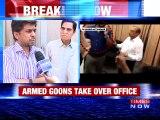 Gun Toting Goons Threaten Residents in Bengaluru