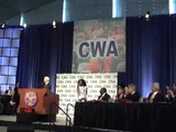 "CWA 1109 Brooklyn Cablevision Workers Rap ""We Are The Union"" At 2013 CWA National Convention"