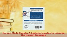 PDF Key Phrase Book Korean Made Easy for Beginners 2
