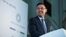 Bartomeu expone 'El impacto del Barça en el mundo' en el Forum de Barcelona Tribuna