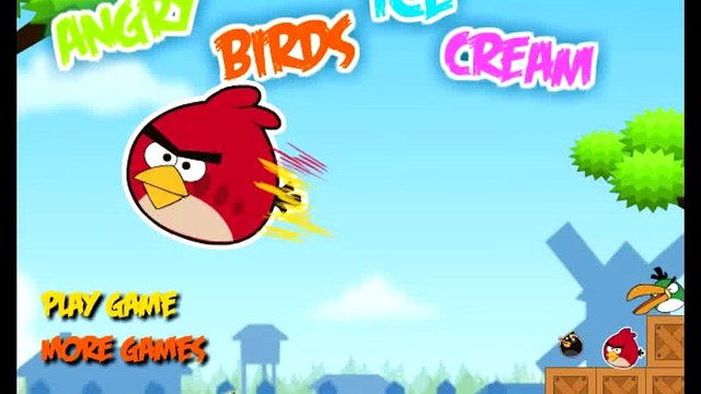 ANGRY BIRDS: Angry Birds Ice Cream Game Levels 1-6 - Angry Birds Games