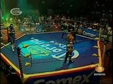 AAA-SinLimite 2009-05-21 Aguascalientes 03 Charly Manson, El Mesias & X-Pac vs. La Legion Extranjera