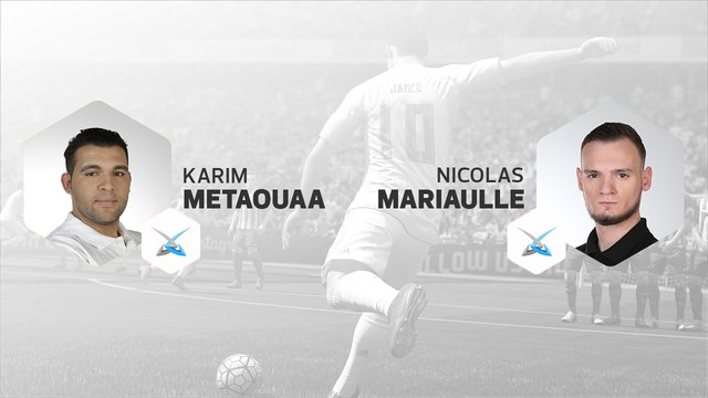 eSport - E-Football League - 12ej : Metaouaa (15e-Paris) vs Mariaulle (16e-FC Barcelone)