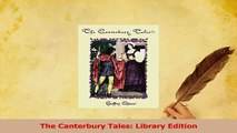 Read  The Canterbury Tales Library Edition Ebook Free