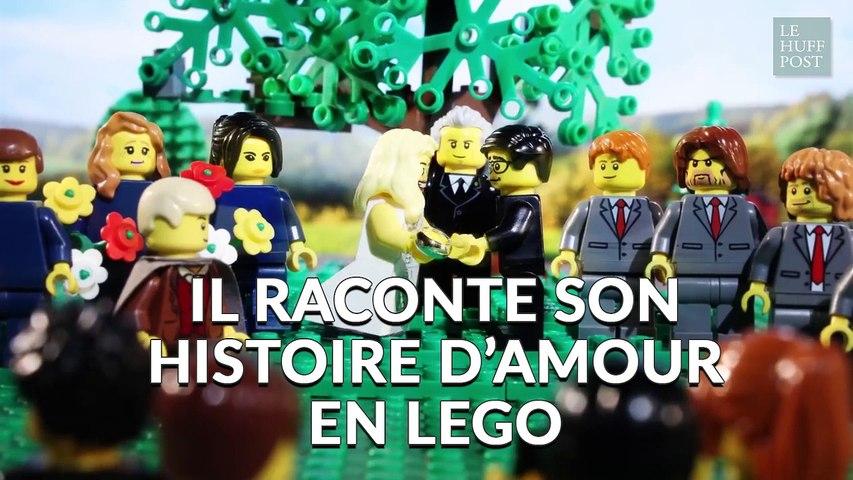Histoire D'amour Son En Lego Raconte Il FTcl1JK