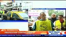 """""""No estamos luchando contra una aplicación sino contra una multinacional"""", sostiene gremio de taxistas en Argentina sobre UBER"""