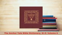 Books The Anchor Bible Dictionary, Volume 6 Free Online