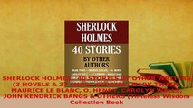 PDF  SHERLOCK HOLMES  40 STORIES BY OTHER WRITERS 3 NOVELS  37 SHORT STORIES MARK TWAIN  EBook