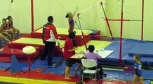 The Bangkok Gymnastic Elleanore at Bar