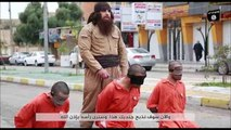 ISIS Fighter Beheads 3 Peshmerga Prisoners On The Streets