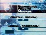 ЧР 2002. 2 тур. Спартак  - Шинник.avi