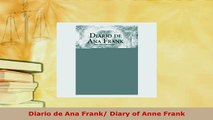 PDF  Diario de Ana Frank Diary of Anne Frank Download Full Ebook