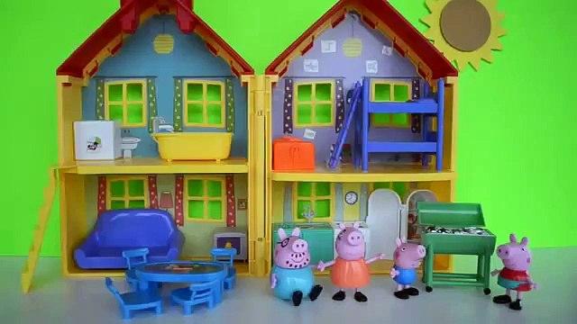 Pig George da Familia Peppa Pig com Medo da Catapora da Peppa. Em Portugues Tototoykids16.mp4