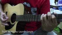 How To Play 'Trust In You' [Lauren Daigle] (Lyrics & Chords Guitar)