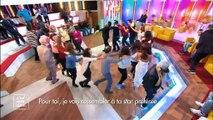"""Le public et les invités d'Evelyne Thomas improvisent une danse sur """"Les sardines"""" dans """"C'est mon choix"""" - Regardez"""